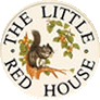 The Little Red House Sign
